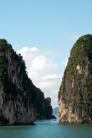 halong: Scenery of Halong Bay, Vietnam