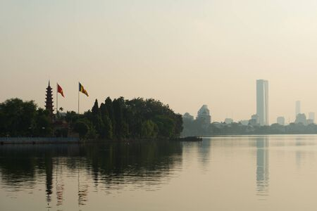 tran: This image shows Tran Quoc Pagoda, Hanoi, Vietnam