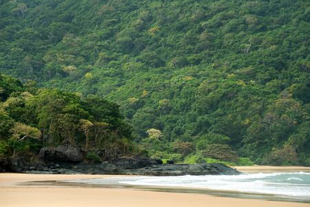 con dao: This image shows a Beach on Con Dao, in Vietnam