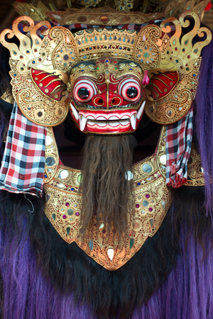 balinese: This image shows a Balinese Mask, in Bali, Indonesia