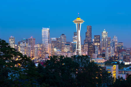 seattle: This image shows the skyline of Seattle, USA