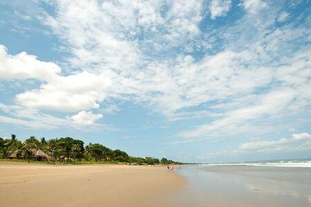 seminyak: This image shows Seminyak Beach, in  Bali, Indonesia Stock Photo