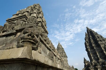 prambanan: This image shows Prambanan Temple, in Yogyakarta, Indonesia