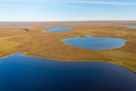 This image shows the Sparse Landscape of Nunavut, Canada