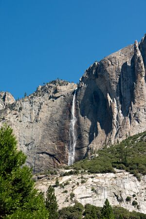 yosemite national park: This image shows the scenery of Yosemite National Park in California. Stock Photo