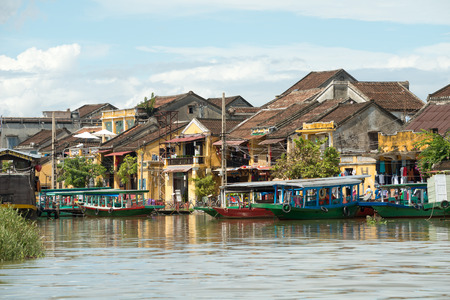 This image shows the Ancient town of Hoi An in Vietnam