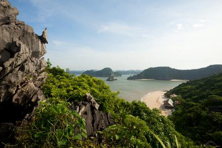 halong: This image shows Monkey Island, Halong Bay, Vietnam