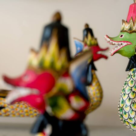 mythical: This image shows Indonesian Decor - Mythical Creatures.