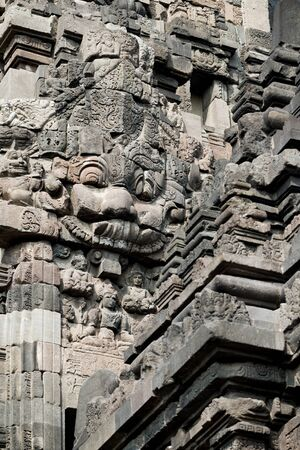 indonesia culture: This image shows Prambanan Temple, in Yogyakarta, Indonesia