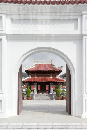 con dao: This image shows a Temple on Con Dao in Vietnam