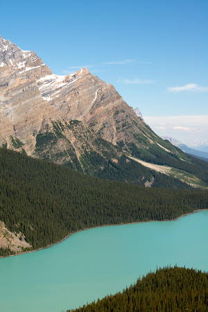 banff national park: This image shows the Canadian Rockies in Banff National Park, Alberta, Canada Stock Photo