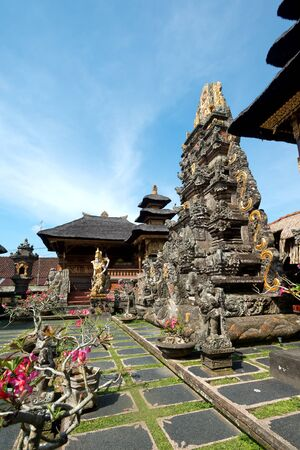 ubud: This image shows Saraswati Temple in Ubud, Bali, Indonesia