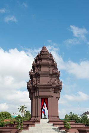 phnom penh: This image shows Independence Monument in Phnom Penh, Cambodia