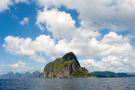 nido: This image shows a Tropical Island in El Nido, Palawan, The Philippines