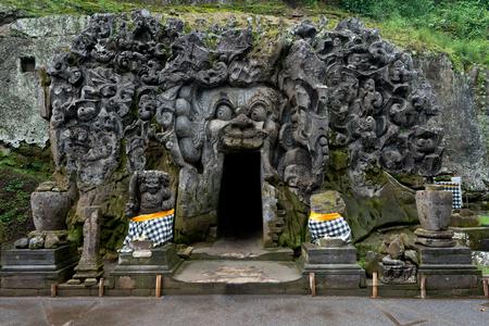 This image shows Goa Gajah (Elephant Cave), Ubad, Bali in Indonesia
