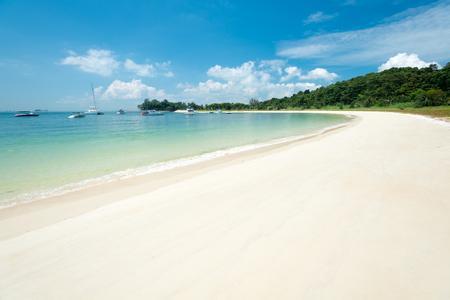 lazarus: This image shows Lazarus Island in Singapore