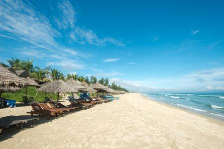 This image shows  Ang Bang Beach, Hoi An, Vietnam Stok Fotoğraf