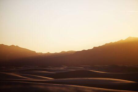 Sunset at White Sands photo