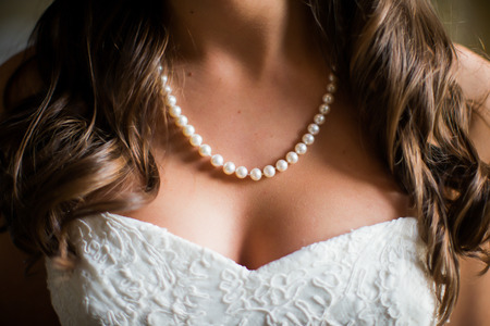 花嫁のネックレス