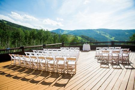 Hochzeits-Zeremonie-Szene Standard-Bild - 45060081