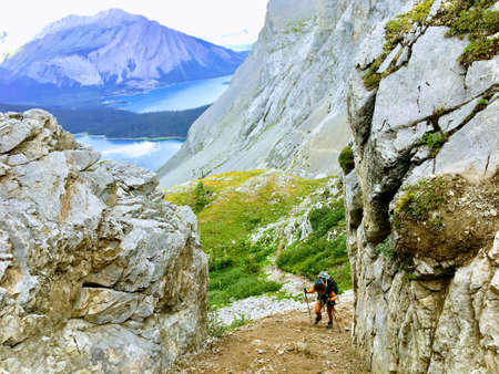 Hiking in the incredible Northover Ridge in Kananaskis Alberta