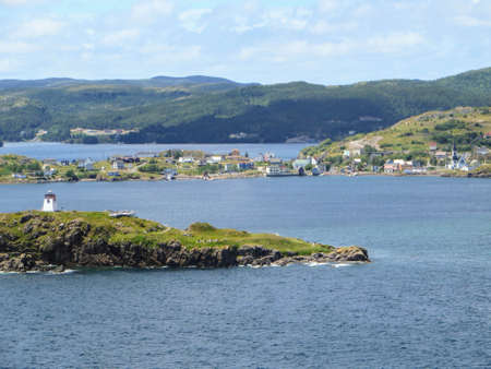 The remote Northern town of Trinity, along the quiet coast of Newfoundland and Labrador