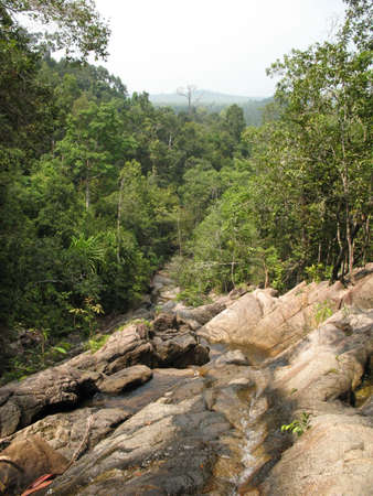 koś: Waterfall on Ko PhaNgan