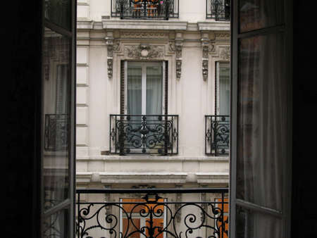 balcony in Paris photo
