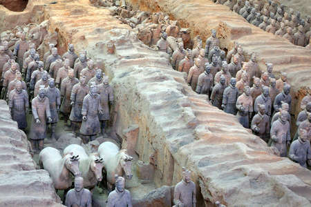 pits: terracotta army