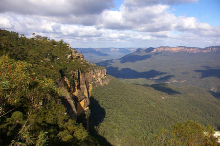 new south wales: blue mountains new south wales