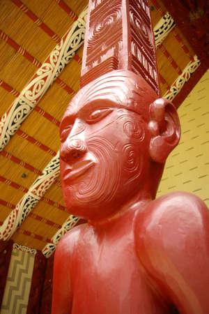 maori meeting house, new zealand Stock Photo - 905426