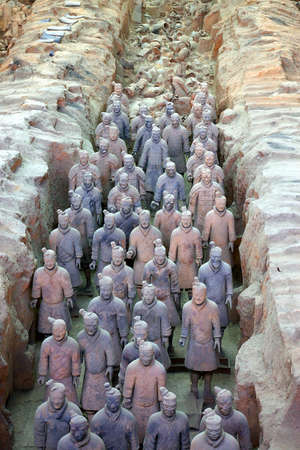 priceless: terracotta warriors Editorial