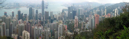 hongkong skyline from victoria peak Stock Photo - 916243