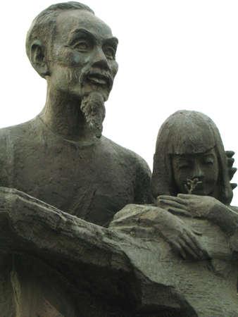 dictator: ho chi minh statue
