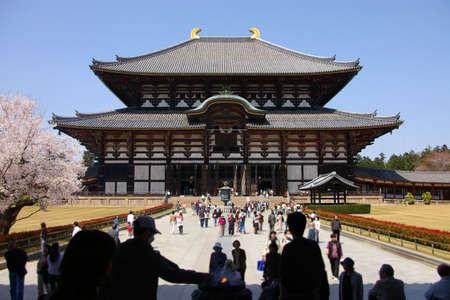 todaiji: todai-ji temple, nara, japan