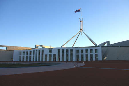 canberra: australian parliament, canberra Stock Photo