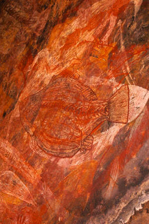 aboriginal rock art Stock Photo - 927972