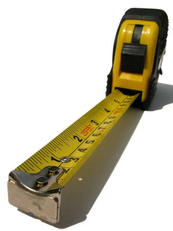 long and short scales: tape measure perspective
