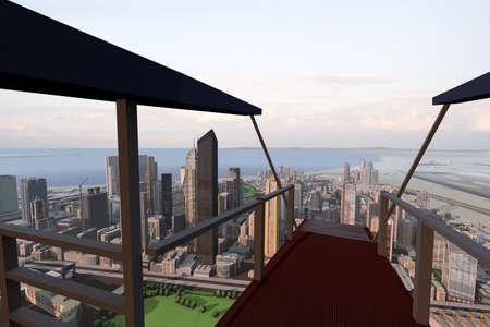 glazing: imaginary city