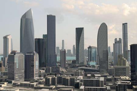urban planning: Imaginary city Stock Photo