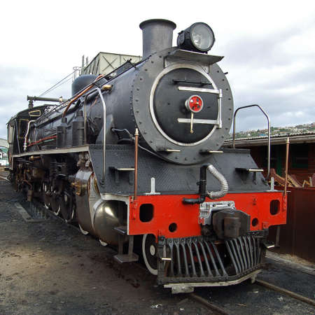 railtrack: A steam locomotive still in daily use in South Africa