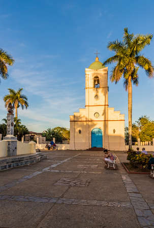 Vinales, Cuba. January 2018. A view of the church of Corazon, in Vinales, cuba. Foto de archivo - 108790576