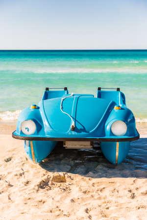 Sports activity equipment on the beach in Varadero in Cuba Фото со стока