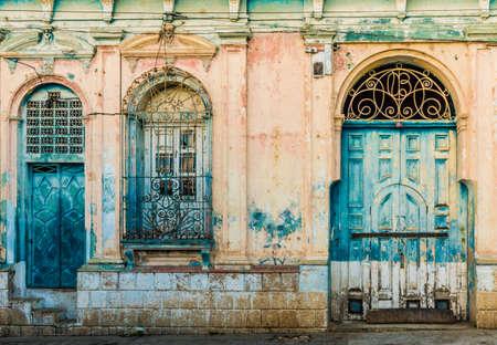 San Salvador. February 2018. Al view of typical architecture in Santa Ana in El Salvador Editorial