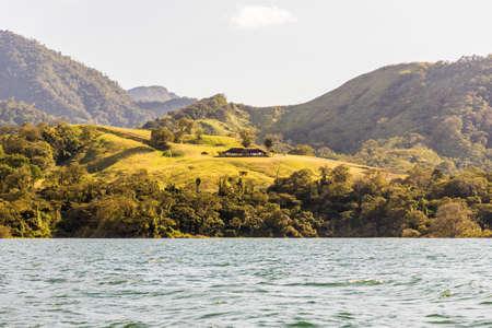 La Fortuna Costa Rica. March 2018. A view of Lake Arenal in La Fortuna in Costa Rica.