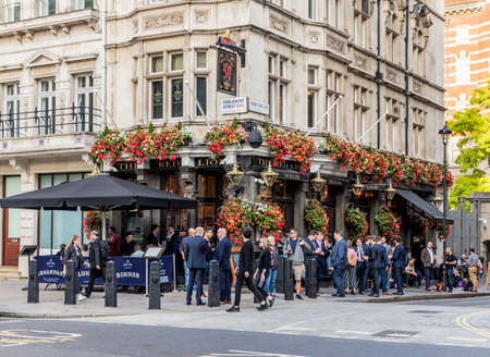 London. September 2018. The red Lion pub in Westminster in London