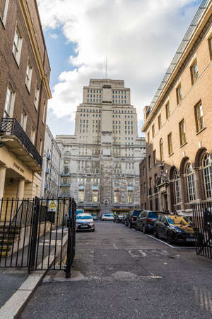 London. November 2018. A view of of Senate House in Bloomsbury in London Editorial