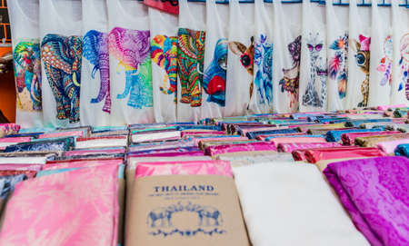 January 2019. Karon Phuket. Siouvenirs for sale in Karon Phuket Thailand