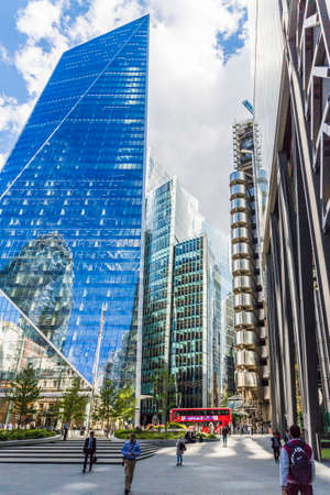 London. May 21 2019. The scapel building in the City of London in London