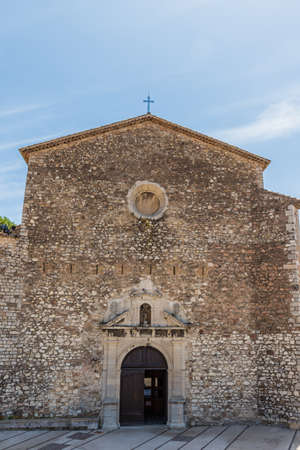 Cannes France. June 15 2019. A view of Church of Our Lady of Esperance in Cannes in France